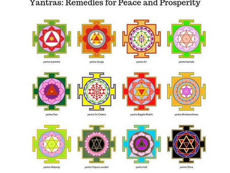 YANTRAS: REMEDIES FOR PEACE AND PROSPERITY