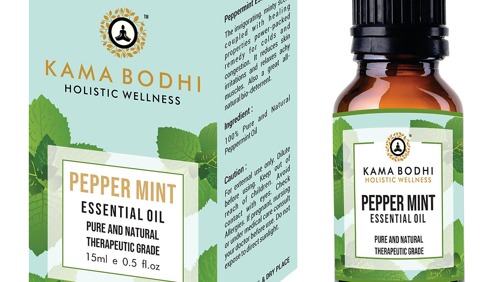 Peppermint (Mentha × piperita)  Essential Oil