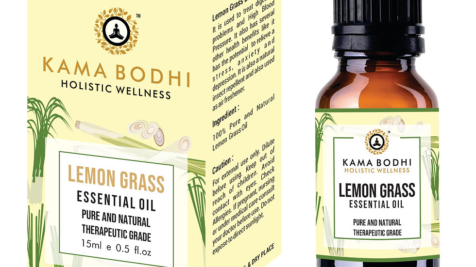 Lemongrass (Cymbopogon) Essential  oil