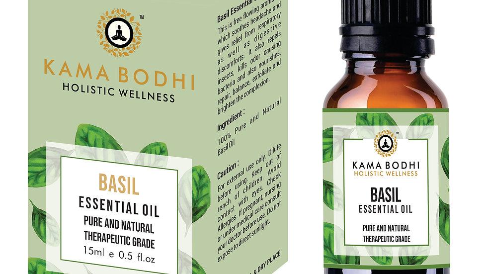 Basil (Ocimum tenuiflorum) Essential Oil