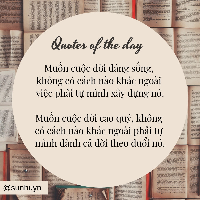 Quotes Nhung cau quotes hay nhat thang 9 sunhuyn