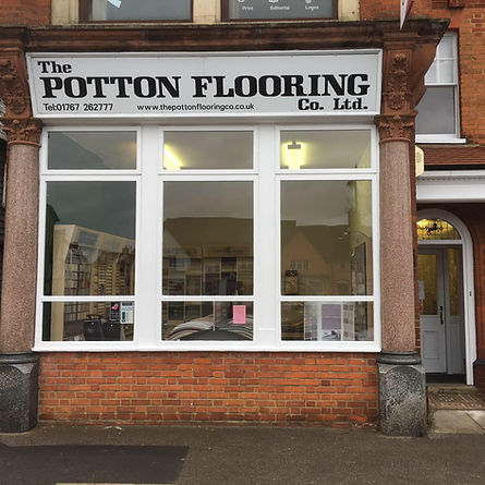 Potton Flooring Shop Front