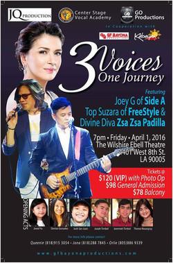 3 Voices 1 Journey