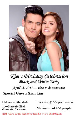 Kim Xian - Kim Chu Birthday