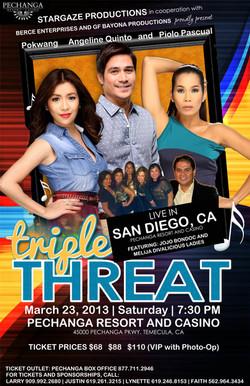 Triple Threat - San Diego