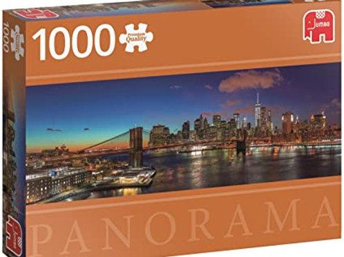 Puzzle PC Hudson Bridge NY Panorama 1000 Peças