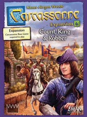 Carcassonne: Expansion 6 - Count King & Robber
