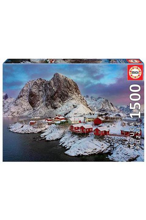Puzzle Educa ílhas Lofote, Noruega 1500peças