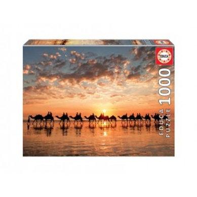 Educa Pôr-do-sol dourado, Cable B (1000 pçs)