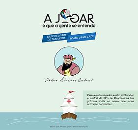 A Jogar - Voucher - Pedro Alvares Cabral