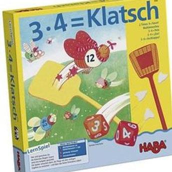 3.4 = Klatsch!