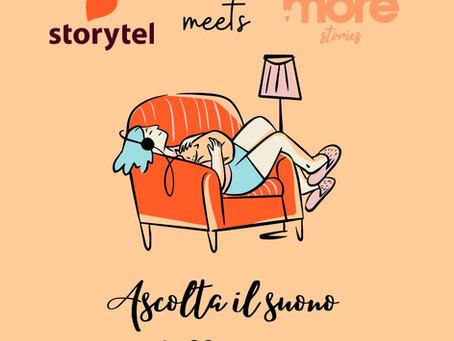Leggere sempre, leggere ovunque. More stories & Storytel