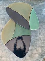 Lamina Side Tables Cermics