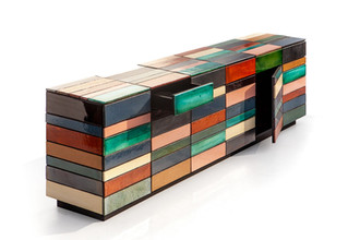 Grid Dressoir Ceramic