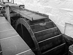 Craft distillery mill wheel