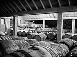 Craft distillery bonded warehouse