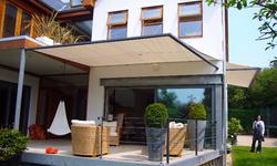 Elford House 'marine' canopy