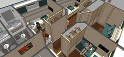Single Cabins En-suite