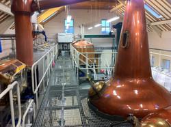 Craft distillery whisky stills
