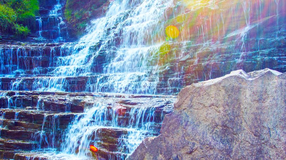 Albion Falls Rainbow