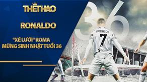 """Ronaldo """"xé lưới"""" Roma mừng sinh nhật tuổi 36, thiết lập hàng loạt kỷ lục đáng nhớ"""