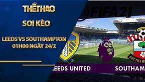 Kèo nhà cái Leeds vs Southampton, 01h00 ngày 24/2, Ngoại Hạng Anh