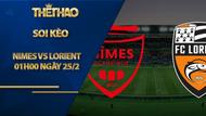 Kèo nhà cái Nimes vs Lorient, 01h00 ngày 25/2, Ligue 1