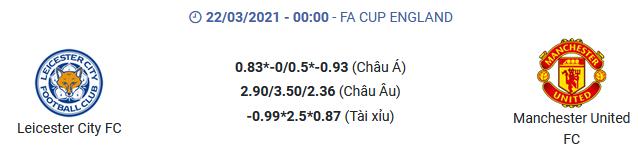 Soi kèo - Leicester vs MU - kubets.net