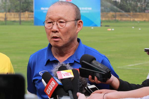 HLV Park Hang-seo đang ở năm hợp đồng thứ 2 cùng VFF