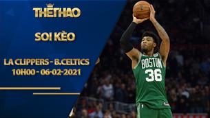 Kèo bóng rổ – LA Clippers vs Boston Celtics – 10h00 – 6/2/2021