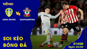 Soi kèo Leeds United vs Southampton 24/02/2021 – 01h00