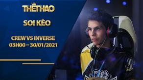 Soi kèo DOTA2, crew vs Inverse – OGA DPC South America Regional League Season 1