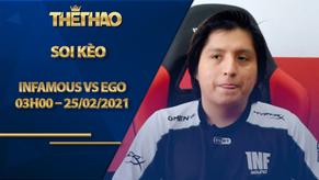 Kèo DOTA2, Infamous vs EGO – Dota 2 – OGA DPC South America Regional League Season 1: Upper Division