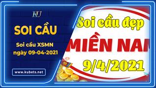 Soi cầu miền Nam - dự đoán xsmn 09-04-2021