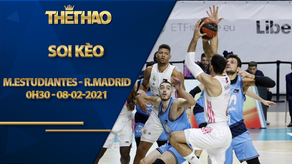 Kèo bóng rổ – Movistar Estudiantes vs Real Madrid – 0h30 – 8/2/2021