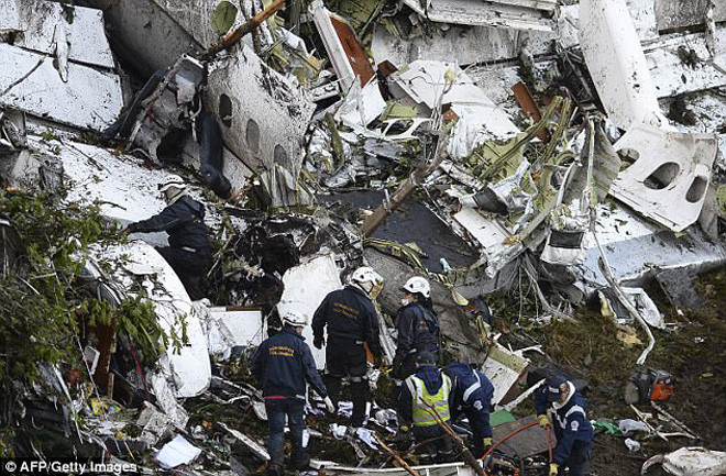 Vụ tai nạn máy bay thảm khốc hồi năm 2016 khiến CLB Chapecoense gần như bị xóa xổ