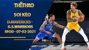 Kèo bóng rổ – Dallas Mavericks vs Golden State Warriors – 8h30 – 7/2/2021