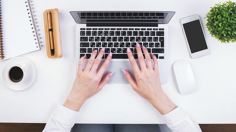 1 val. koučingas arba konsultacija internetu (virtualus tiesioginis ryšys)