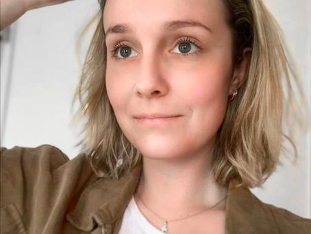 Portrait de Camille Patteeuw, Webdesigner et fondatrice de Adelicor