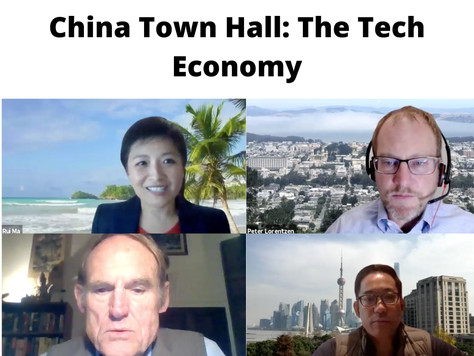 China Town Hall: The Tech Economy