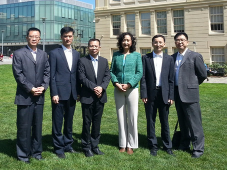 The Wenzhou Government Delegation Connects with USF School of Management and Meets WZPHD Members