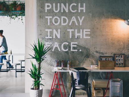 Punching up your #MondayMotivation Mantra