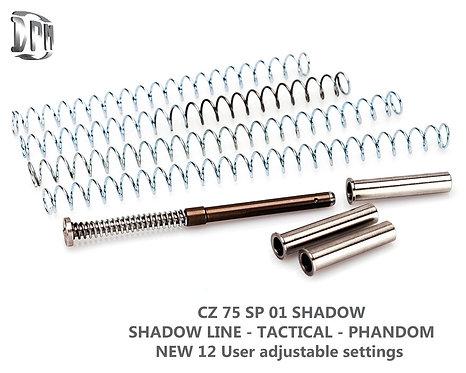 CZ 75 SP-01 Shadow  Shadow Line - Tactical - Phantom & CZ TS Orange 9mm