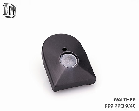 WALTHER P99-PPQ 9mm/40s&w ALUMINUM Black T6 Aircraft Hard Coat Anodized