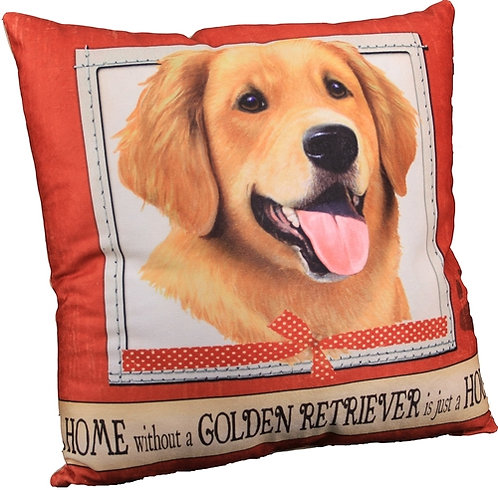 Plush Pillow - Golden Retriever