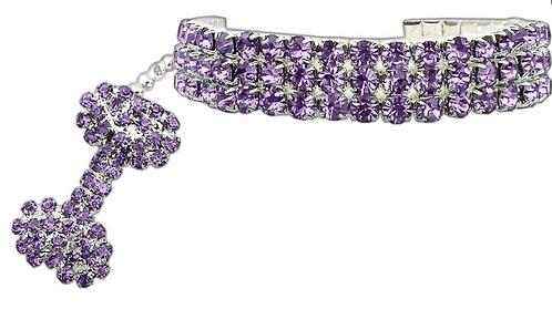 Glamour Bits Collar - Lavender
