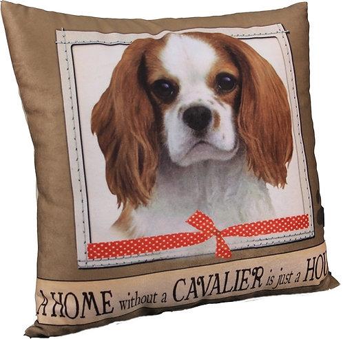 Plush Pillow - King Charles Cavalier