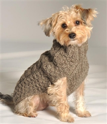 Classic Knit Sweater- Grey