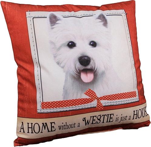 Plush Pillow - Westie