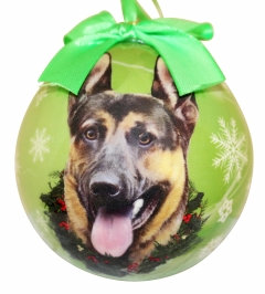 Christmas Ornament - German Shepard